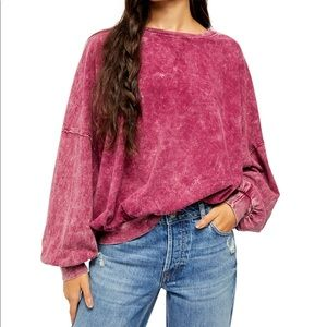 Free People 123 Long Sleeve Top